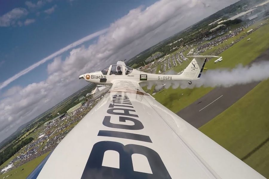 AeroSPARX World first at Cosford Air Show